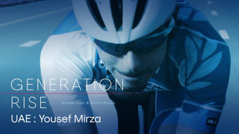 Yousef Mirza: Olympic legacy target for UAE's top cyclist