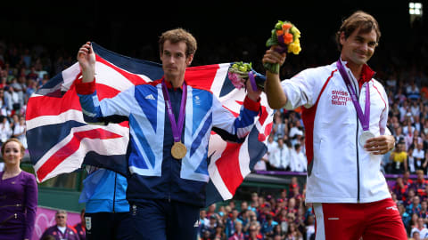 Andy Murray beats Roger Federer to Olympic tennis gold | London 2012 Replays