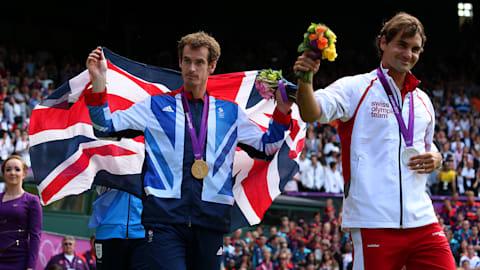 安迪·穆雷击败罗杰·费德勒赢得奥运网球金牌 | 2012年伦敦奥运会回看