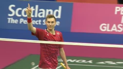 Axelsen stuns Olympic champion