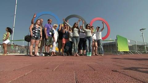 إنسانية الحلقات الأولمبية