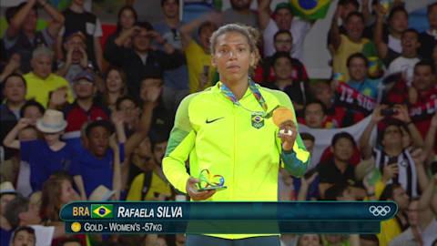 Medalla de oro en judo para la brasileña Silva
