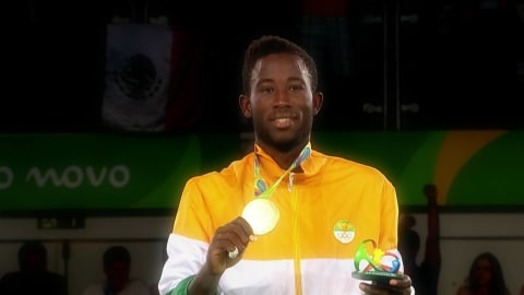 National anthem: The best of Cote d'Ivoire in Rio