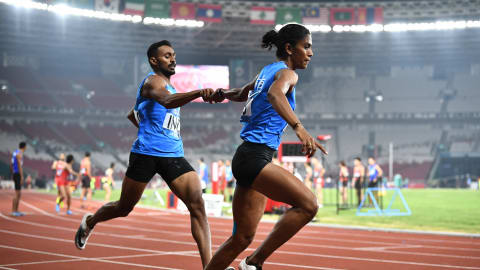 Indian mixed relay team qualify for Doha Worlds final and Tokyo 2020