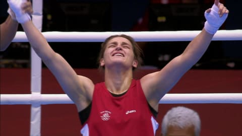 Katie Taylor at age 21