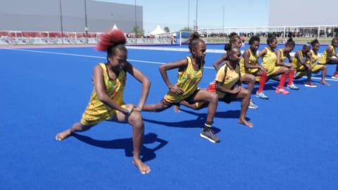 No shoes, no problem for Vanuatu's hockey team