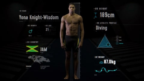 Anatomy of a Diver: Is Yona Knight-Wisdom's physique perfectly balanced?