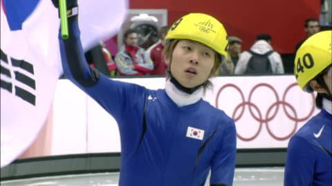 Première médaille d'or pour Ahn Hyun-soo