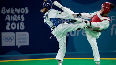 Achtel- und Viertelfinals - Tag 4 - Taekwondo |  Buenos Aires 2018 OJS