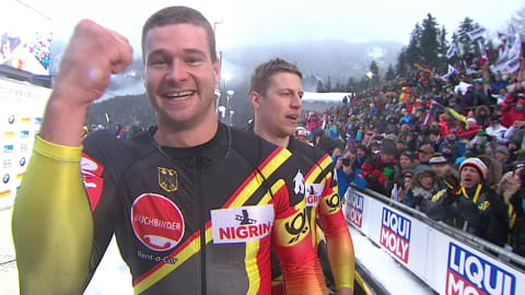Bobsleigh world champion Johannes Lochner secures third European title