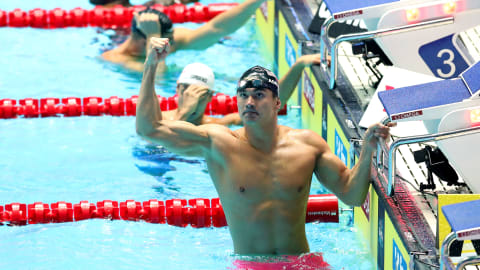 Caeleb Dressel hails Nathan Adrian as Team USA wins relay gold at FINA World Championships