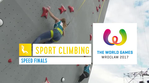 Escalada Esportiva Finais de Speed  - The World Games Wroclaw 2017