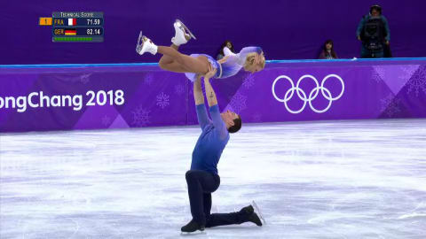 Savchenko and Massot discuss Pairs Figure Skating gold medal