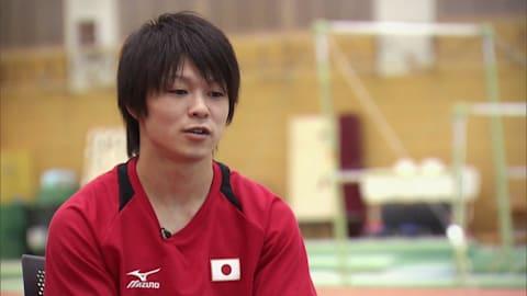Kohei Uchimura com 21 anos