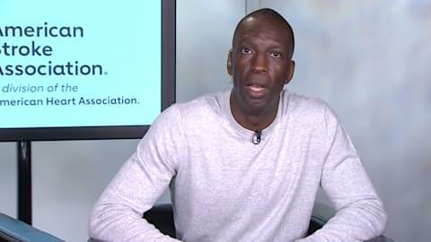 Michael Johnson bittet um Schlaganfallbewusstsein