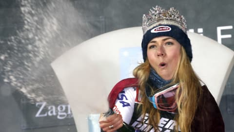 Shiffrin wins seventh consecutive World Cup slalom