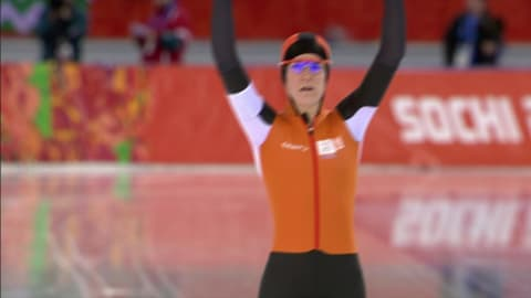Ireen Wust (NED), Silver Women's 5000 m | Speed Skating - Sochi 2014 Replays