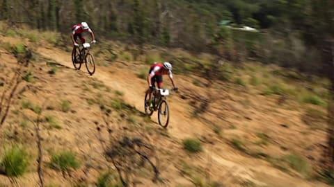 Radsport: 2018 Absa Cape Epic - Westkap, Südafrika. 5. Etappe