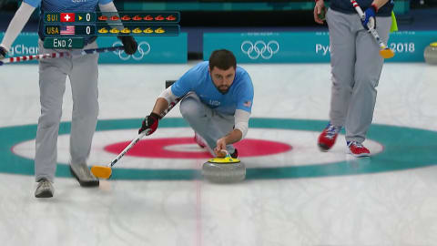 SUI v USA (Round Robin) - Men's Curling | PyeongChang 2018 Replays