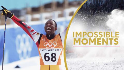 Isaac Menyoli skie pour une plus grande cause | Impossible Moments