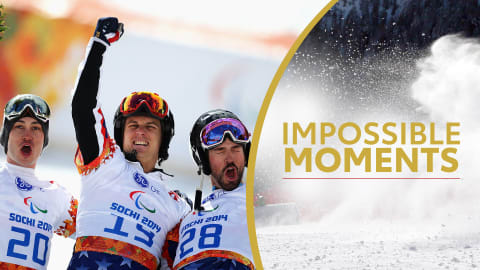 USA's Clean Sweep In Men's Para Snowboarding Debut | Impossible Moments
