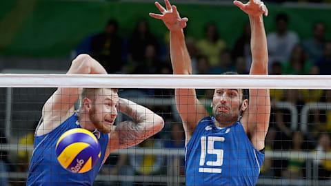 SRB vs ITA | FIVB Olympisches Qualifikationsturnier Herren - Bari