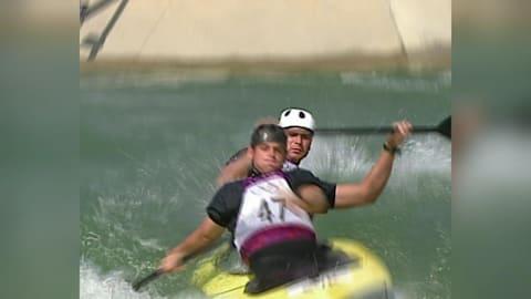 Peter and Pavol Hochschorners, canoe slalom C2 Gold Medal| Sydney 2000