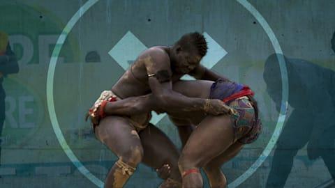 Wie sich das senegalesische Ringen zu einem MMA Mashup entwickelte