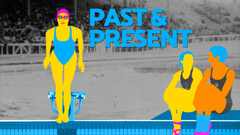 Past and Present – Artistic swimming