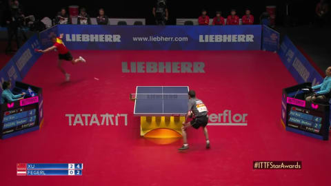WATCH - The best table tennis points in 2018!