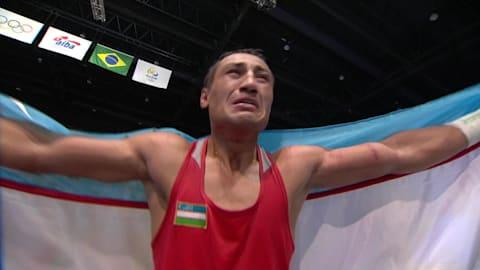 Gaibnazarov prend l'or en boxe poids super-légers