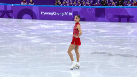 Mirai Nagasu first American woman to land triple axel in Olympics