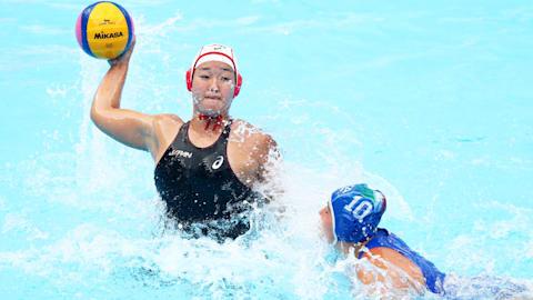 世界水泳・韓国大会5日目:水球女子、イタリアに惜しくも敗れ、2連敗に