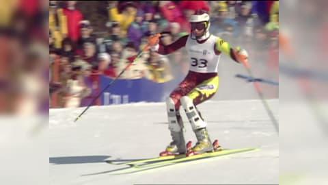 ميداليات سلوفينيا: التزلج الألبي - ليلهامر 1994