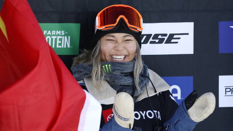 Chloe Kim crowned halfpipe world champion