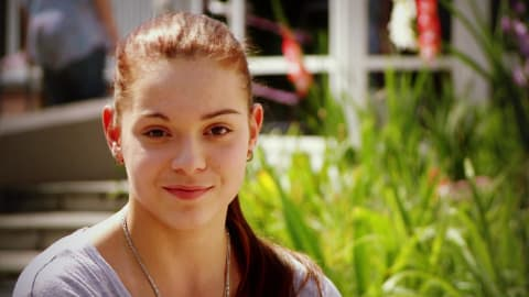 Adelina Sotnikova at age 17