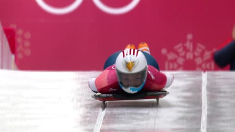 Heat 3 - Skeleton (F)   Reviviendo PyeongChang 2018