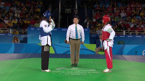A. ABUGHAUSH (JOR) df. G. AHMED (EGY), 9:1 | Taekwondo @ Rio 2016