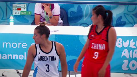 Basketball 3x3 Buenos Aires 2018 – CHN vs ARG