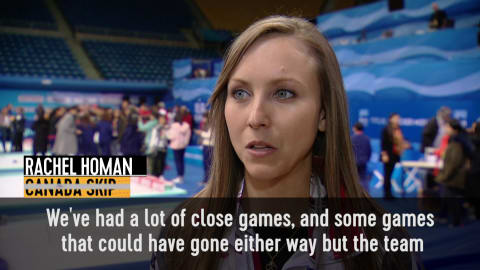 Rachel Homan: We are excited to bring back gold for Canada