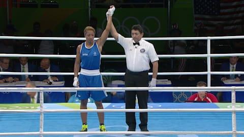 E. MOSSELY (FRA) df. A. BELIAKOVA (RUS), TKO R1 2:00