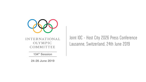 Joint IOC - Host City 2026 Press Conference