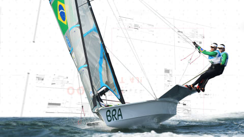 See how aerodynamic sails have optimised performance