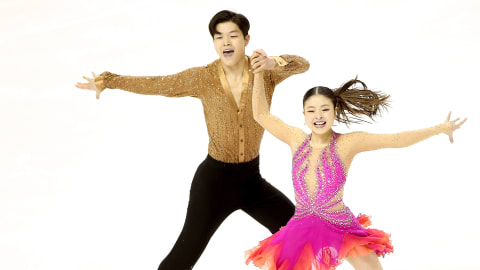 The Shibutani siblings take a break from competitive skating