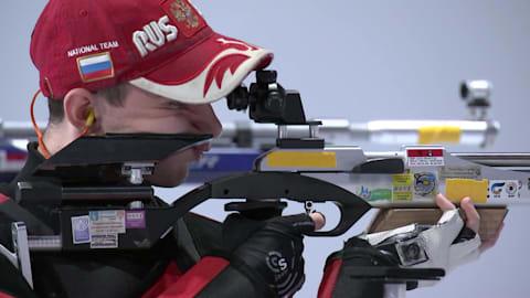 Men's 10m Air Rifle- Shooting | YOG 2018 Highlights