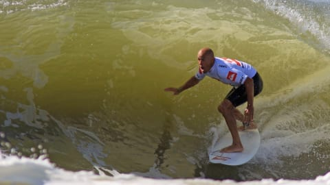Surfing world title fight on at Kelly Slater's Surf Ranch