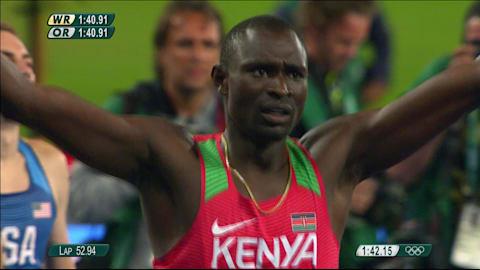 Rudisha retains 800m Olympic title