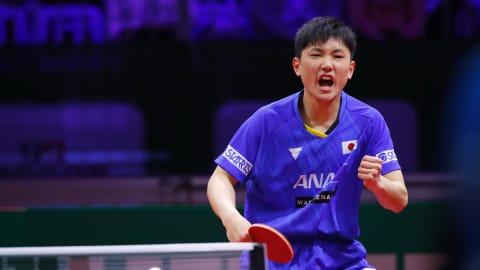 Japanese prodigy Tomokazu Harimoto sets his sights on the top