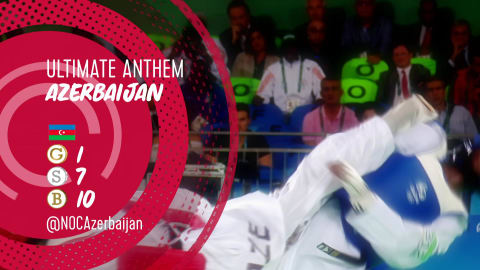 Nationalhymne: Aserbaidschans Highlights in Rio