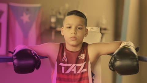 Le prodige de 13 ans qui est le prochain champion de boxe de Porto Rico